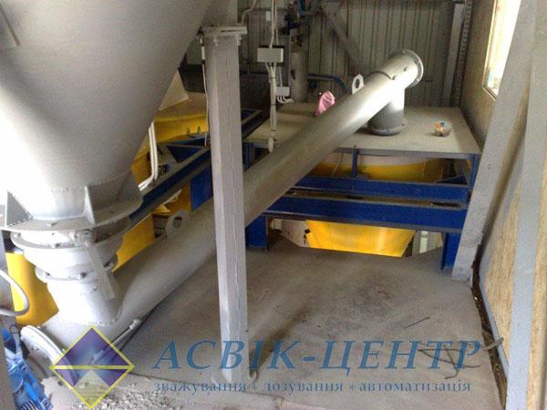 Использовуем дозатор цемента в бетоносмесительных установках